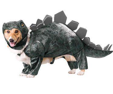 Stegosaurus Dog Costume small