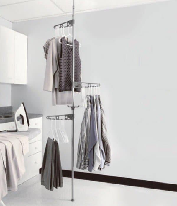 Tension Pole Clothes Hanger