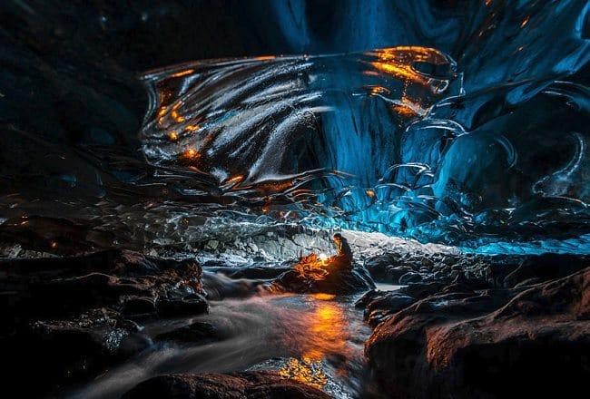 Vatnajokull Cave, Iceland