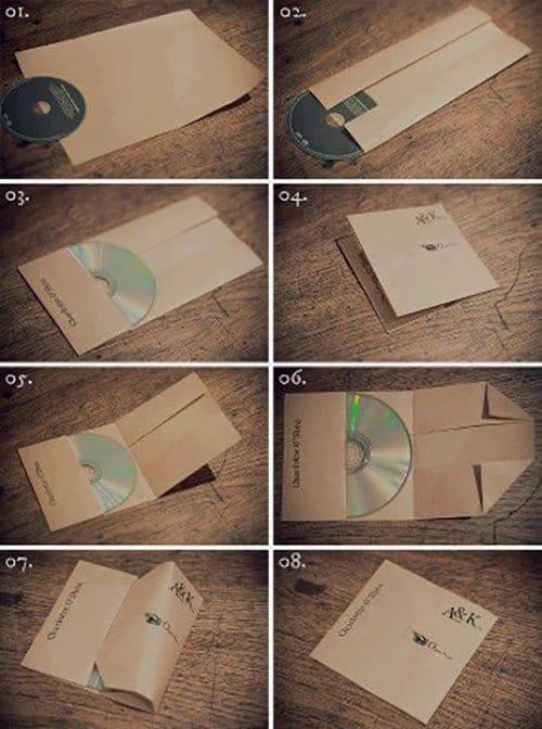 Wrap cd