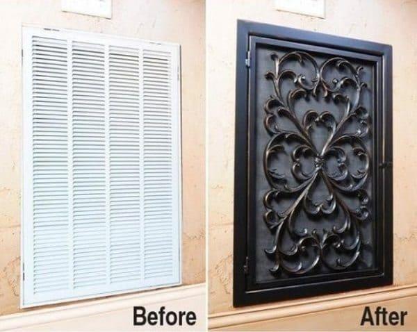 air vent rubber doormat