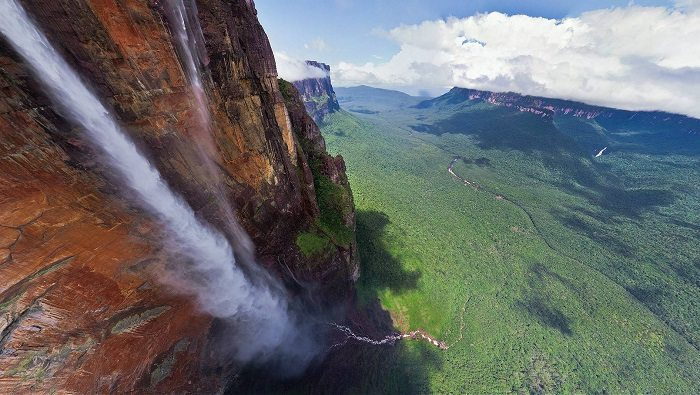 angel falls top