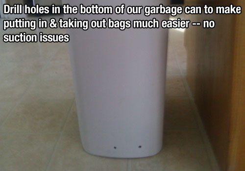 anti suction bin