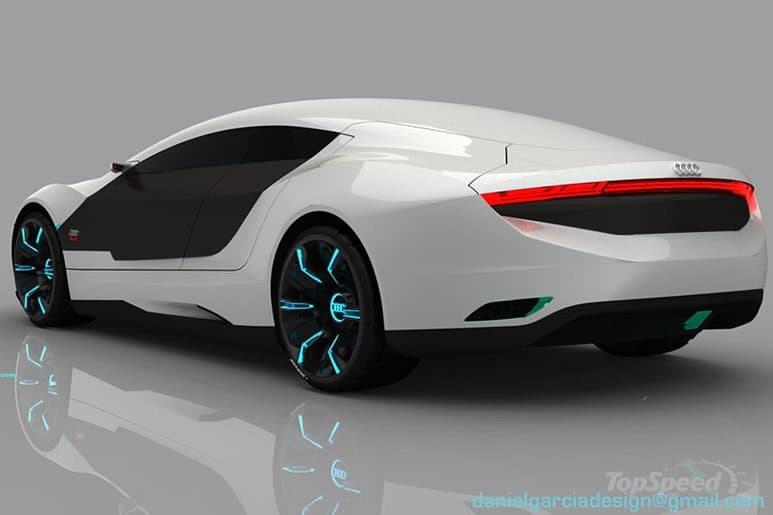 Audi A Concept Car Repairs Itself And Changes Color - Audi a 9
