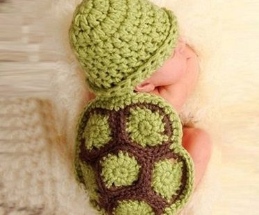 baby crochet turtle outfit
