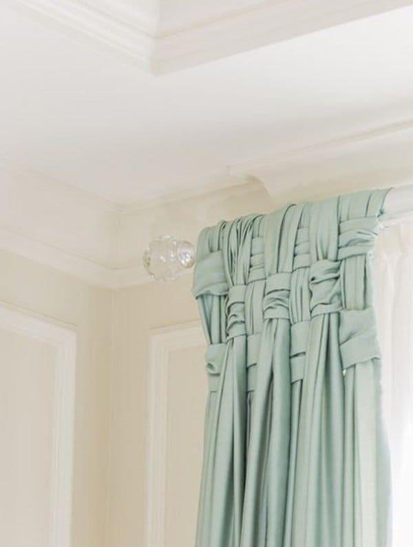 basket-weave drapes