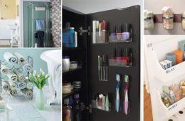 bathroom organizing ideas