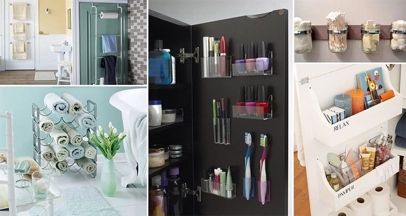 15 organization ideas every bathroom needs for Bathroom organization ideas
