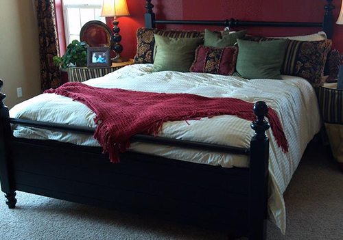 bed layout