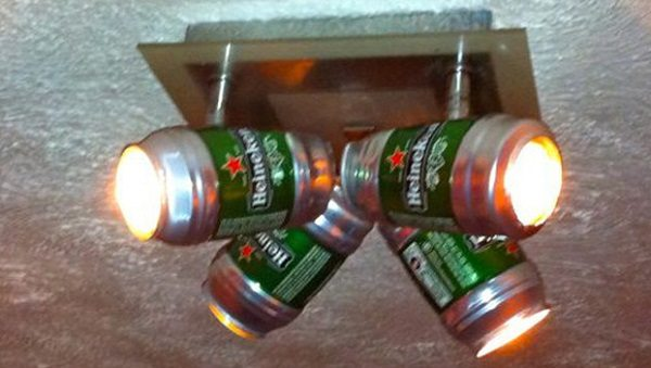 beer can light shade