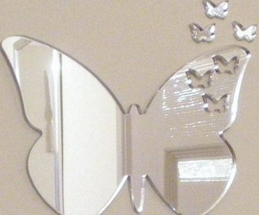 butterfly mirrors