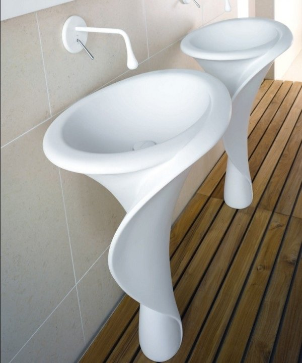 calla lilly sink
