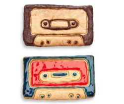 cassette tape cookie cutter cookies