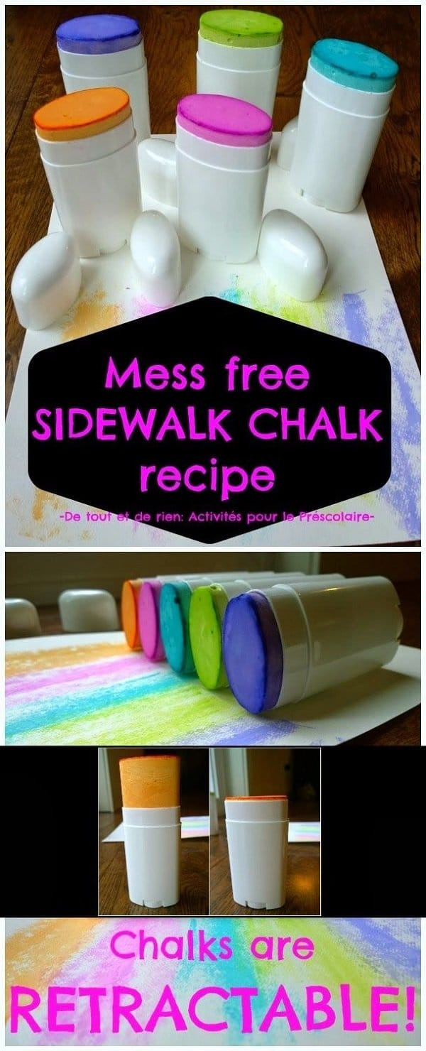 chalk deodorant sticks