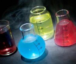 chemistry set shot glasses drinks