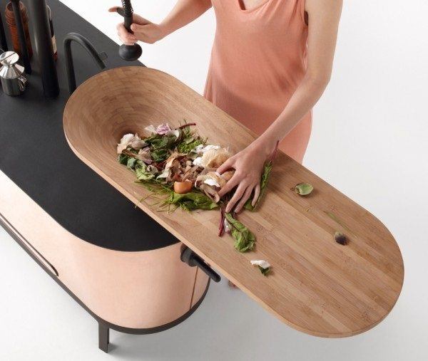 chopping board sink