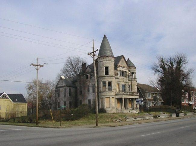 creepy mansion across the street