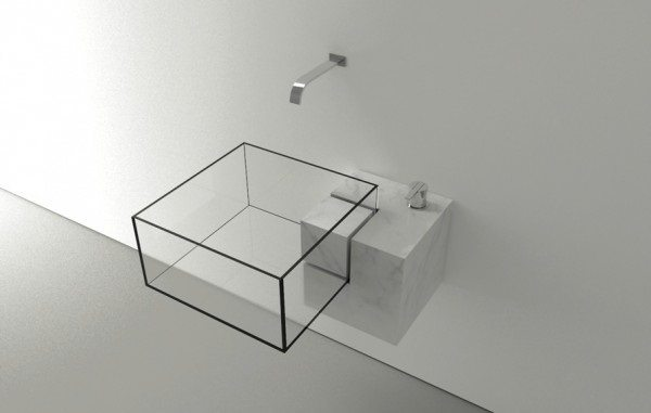 cuboid sink