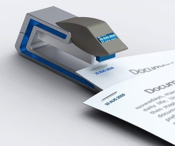 date stapler