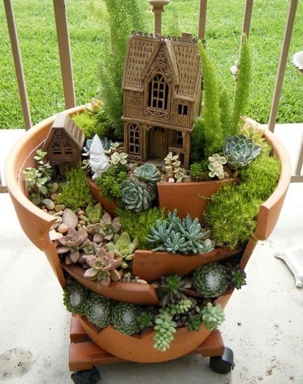 diy fairy garden gnome