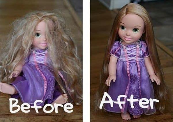 doll hairspray
