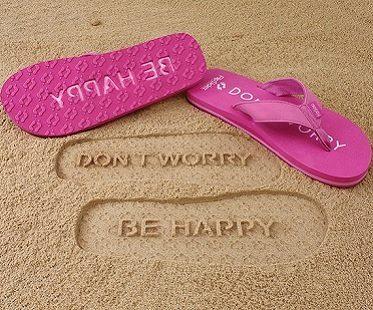 dont worry be happy flip flips