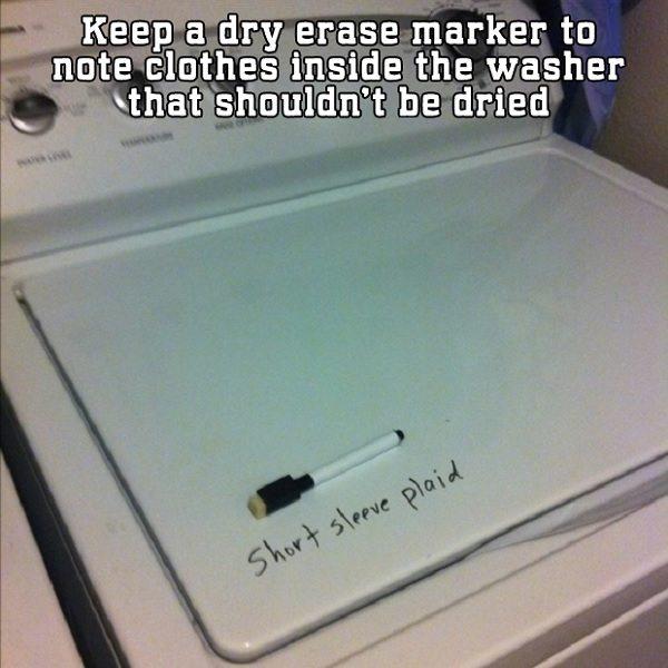 dry marker washing machine