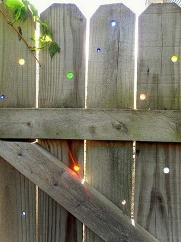 fence marbles
