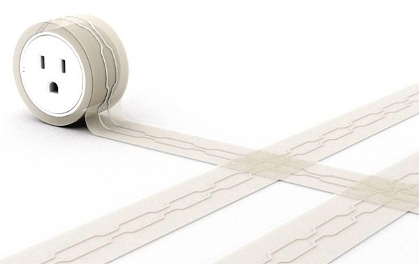 flat extension cord