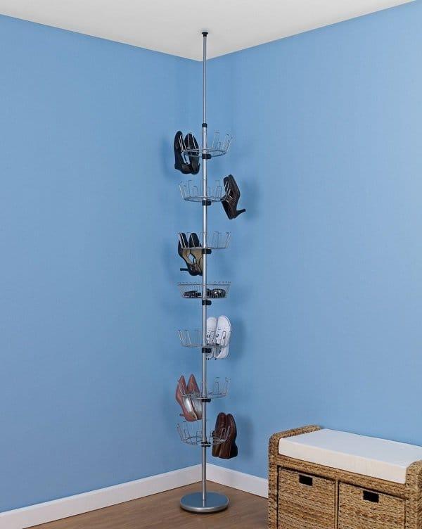 floor to ceiling shoe tree