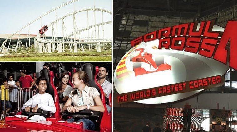 formula rossa coaster