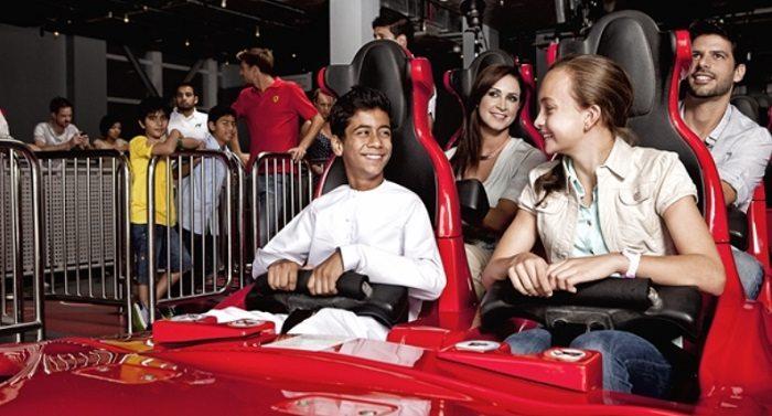 formula rossa seats