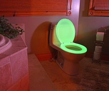 glow in the dark toilet seat bathroom
