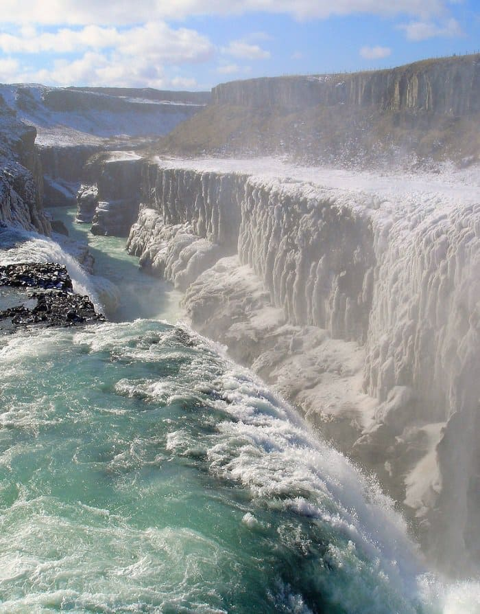 golden falls, iceland