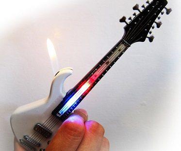 guitar lighter. Black Bedroom Furniture Sets. Home Design Ideas