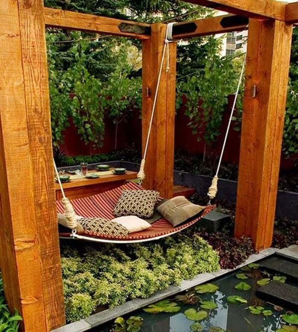 hammock bed swing