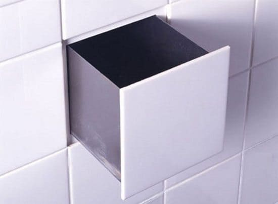 hidden tile storage