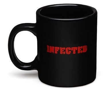 infected zombie mug mug