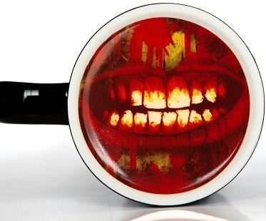 infected zombie mug underneath