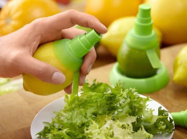 juice sprayer set
