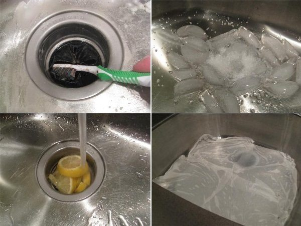 kitchen sink lemons ice
