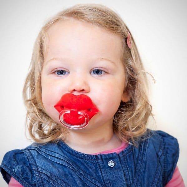 lips pacifier