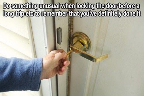 lock door trick
