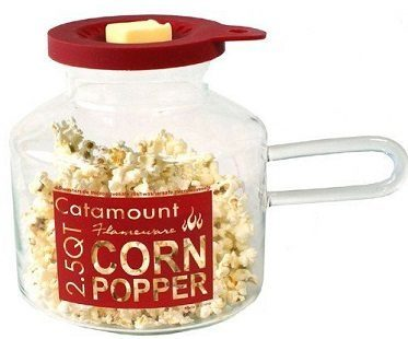 microwave corn popper butter
