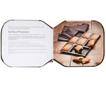 nutella recipe book inside