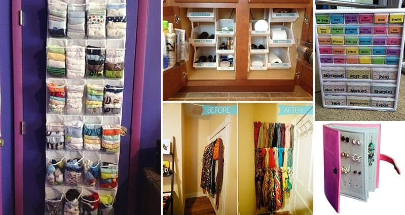 Organize Your Clothes 10 Creative And Effective Ways To Store And Hang Your Clothes: 16 Super Useful Organizing Ideas For Your Home