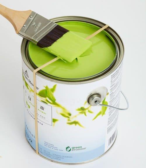 paint brush drips