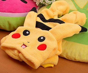 pikachu pet costume plain