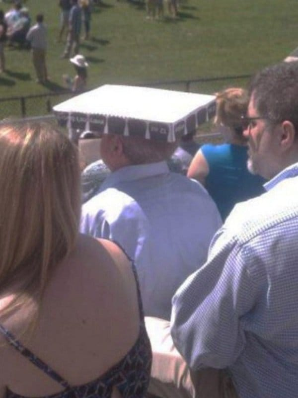 pizza box hat
