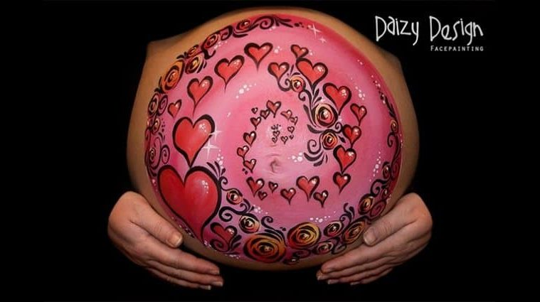 pregnant-belly-paintings